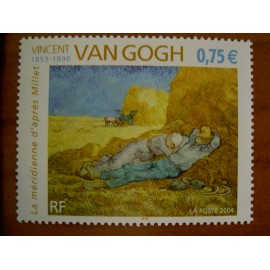 France num Yvert 3690 ** MNH Année 2004 Tableau Van Gogh Millet