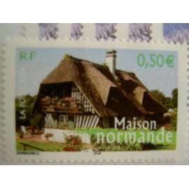 France num Yvert 3702 ** MNH Année 2004 normandie Maison