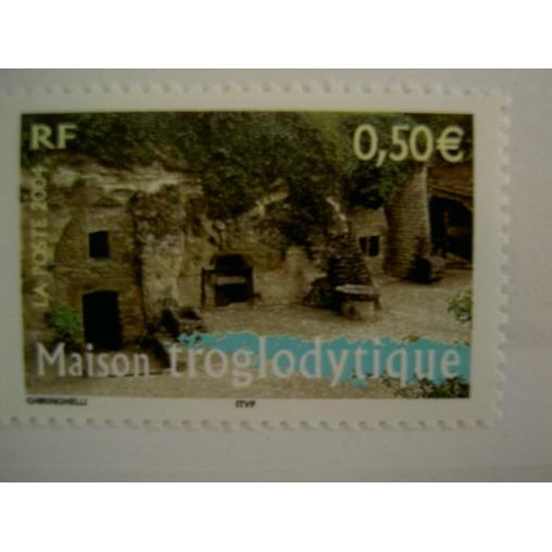 France num Yvert 3707 ** MNH Année 2004 Mison Troglodyte