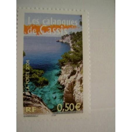 France num Yvert 3708 ** MNH Année 2004 Calanque de Cassis