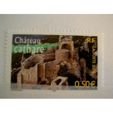France num Yvert 3710 ** MNH Année 2004 Château cathare