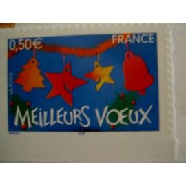 France num Yvert 3725 ** MNH Année 2004 Meilleurs vœux