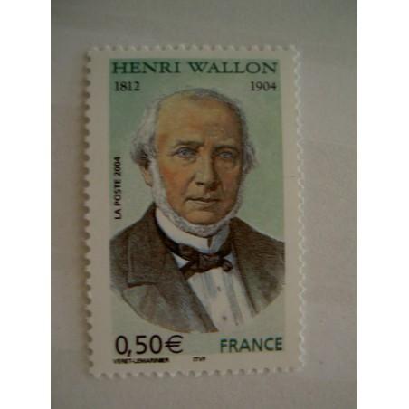 France num Yvert 3729 ** MNH Année 2004 Henri Wallon Historien
