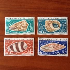 Wallis et Futuna 192-195 ** luxe sans charnière Coquillage 1976