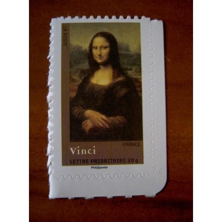 France 4135 ** Tableau  Leonard De Vinci Joconde en 2008