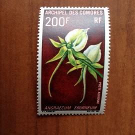 Comores PA 28  ** MNH fleurs en 1969