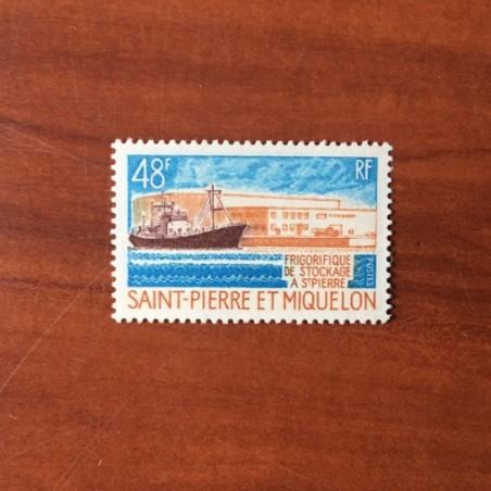 Saint Pierre et Miquelon 406 * MH Frigorifique année 1970