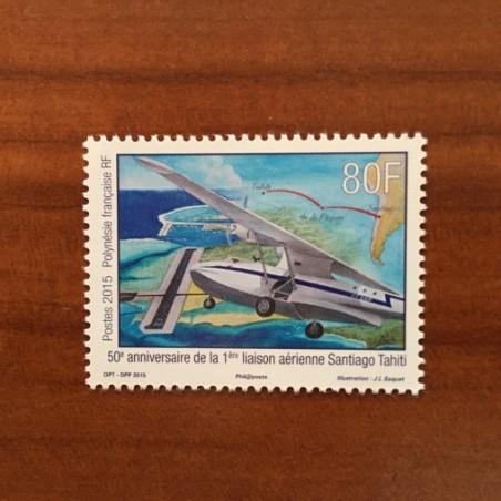 POLYNESIE NUM 1092 ** MNH Avion ANNEE 2015