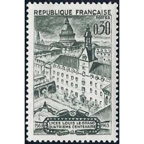 France Yvert Num 1388 ** Paris  1963