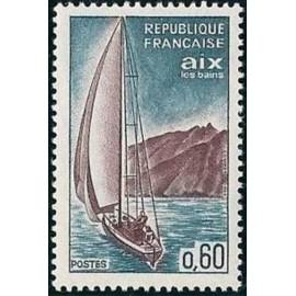France Yvert Num 1437 ** Aix Les Bains  1965