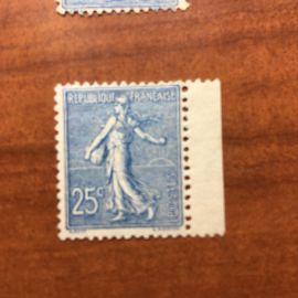 France num Yvert 132 **  MNH Semeuse Année 1903
