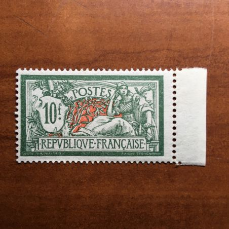 France num Yvert 207 ** MNH Merson Année 1924 decentré