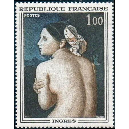 France Yvert Num 1530 ** Tableau Ingres  1967