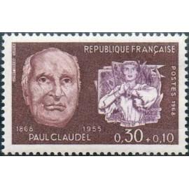 France Yvert Num 1553 ** Jeanne d'arc  Claudel  1968