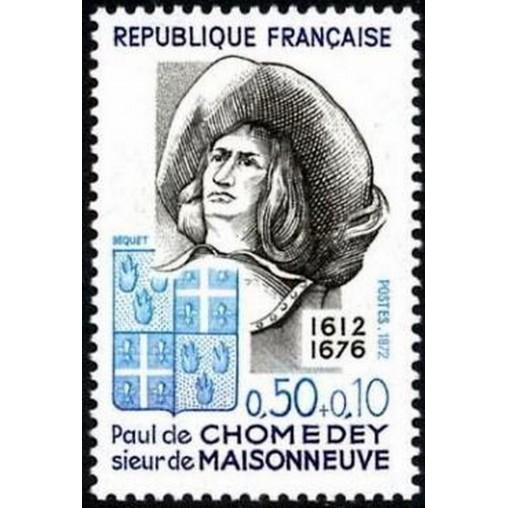 France Yvert Num 1706 ** Chomedey  1972