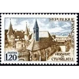 France Yvert Num 1712 ** Charlieu  1972