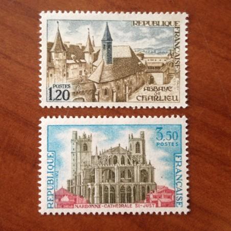 France Yvert Num 1712-1713 **   1972