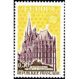 France Yvert Num 1714 ** Europa  1972