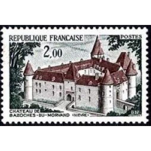 France Yvert Num 1726 ** Château  1972