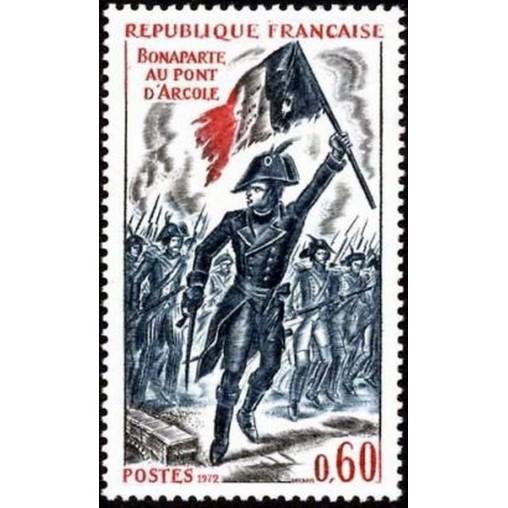 France Yvert Num 1730 ** Napoleon  1972
