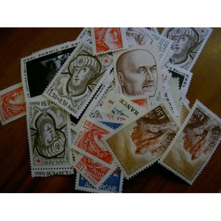 Sous Faciale100 timbres à 1,30francssoit 19,82 euro