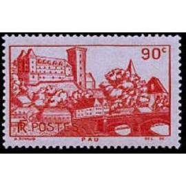 France num Yvert 449 ** MNH château de Pau Année 1939